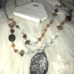 NWT - Fall Multi-Color Necklace